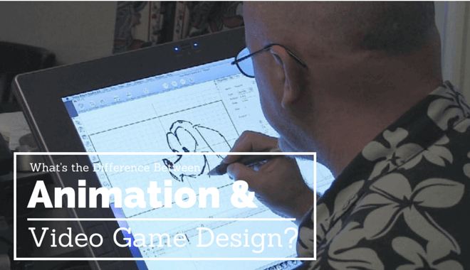 animation vs game design