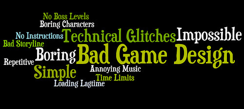 Bad Game Design