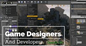 game designer vs developer