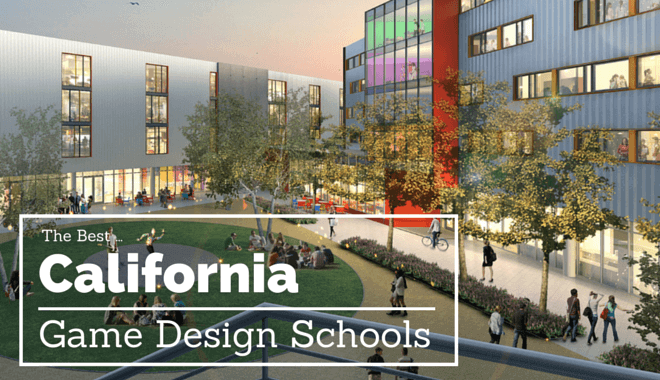 top california game design schools