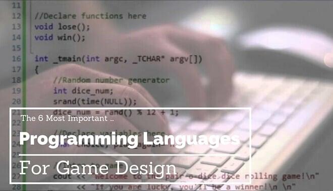 game design programming languages