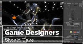 high school game design electives