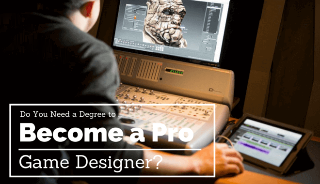 game design need a degree