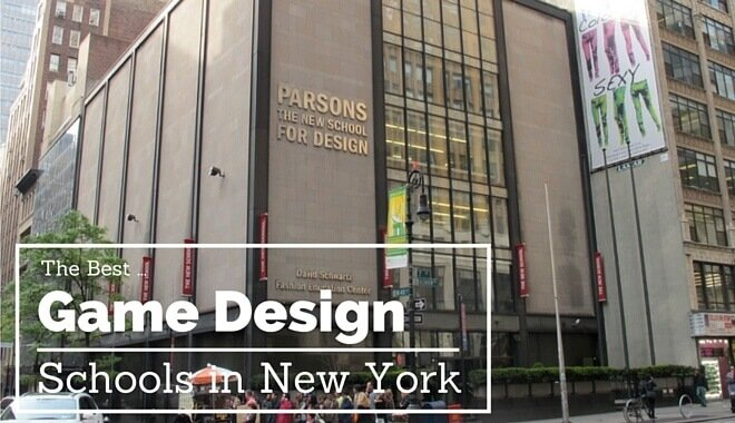 the best video Game Design schools in new york