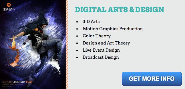 digital arts degree information