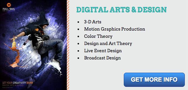 digital arts degree information