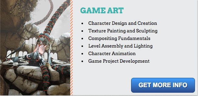 game art degree program