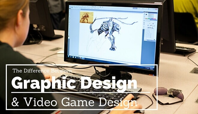 graphic design or game design