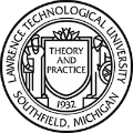 lawrence technological university school logo