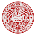northeastern university school logo