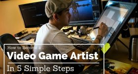 Become a Video Game Artist in 5 Steps