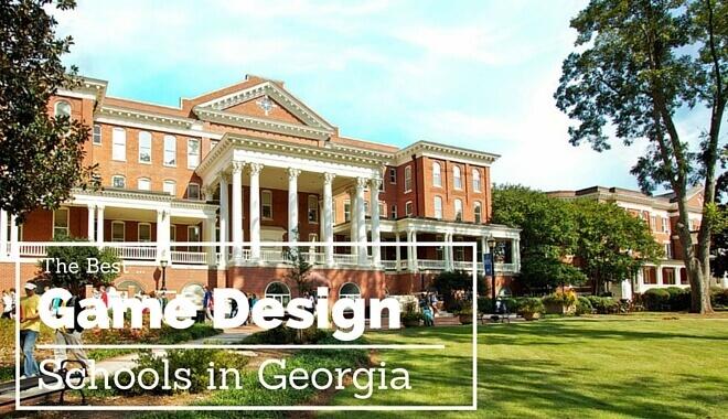 video game design schools in georgia