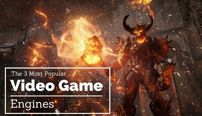 3 best video game engines