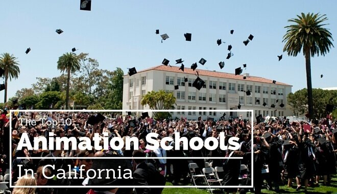 animation colleges in california