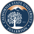 california state University fullerton school logo