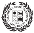 california state university bong beach school logo