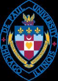 depaul university school logo