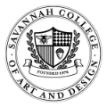savannah college of art and design school logo