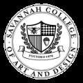 savannah college of art and design school logo