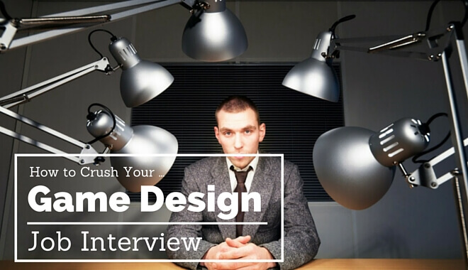 game design job interview tips