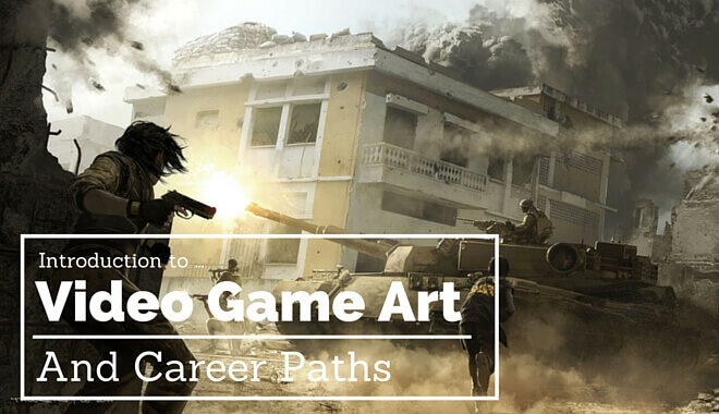 video game art introduction