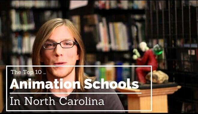 north carolina animation colleges