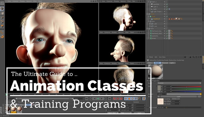 animation classes and online courses