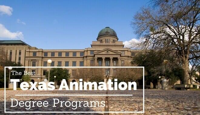 texas animation schools