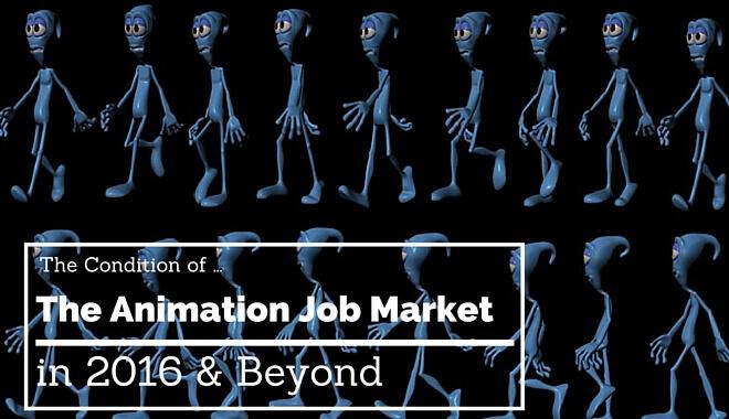 Animation Job Market in 2016