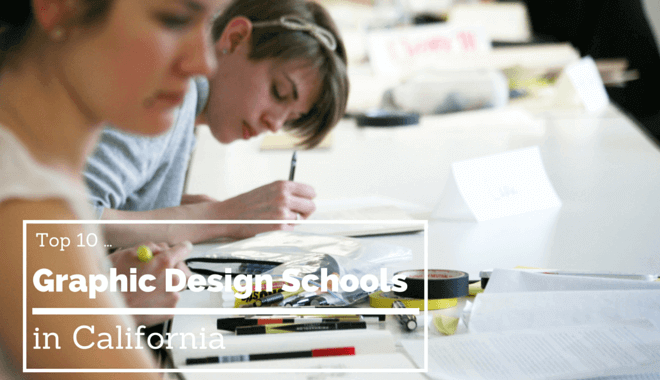 california graphic design colleges