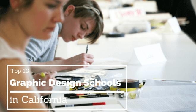 california graphic design colleges