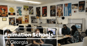 Our 5 Favorite Animation Schools in Georgia