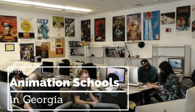 georgia animation colleges