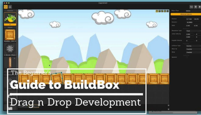 The Beginners Guide to BuildBox | Drag n Drop Development