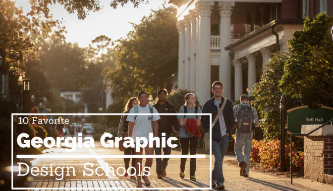 best graphic design colleges in georgia