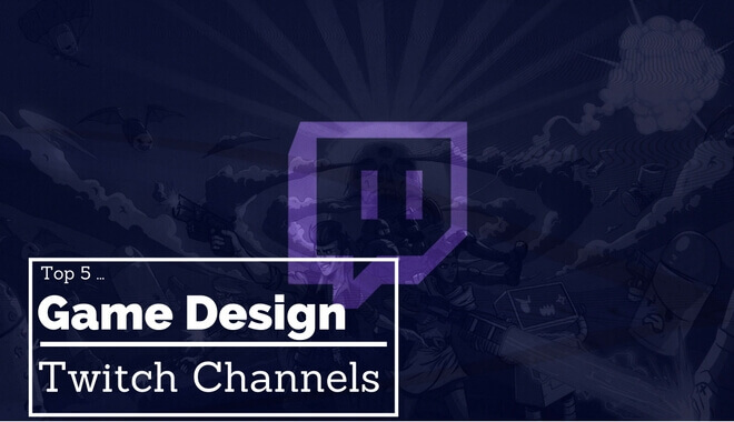 best game designing twitch channels