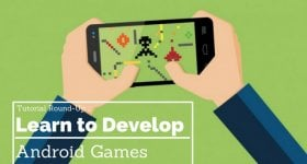 how to make android games