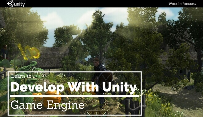 unity game engine tutorial guide