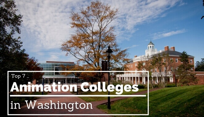 washington animation schools