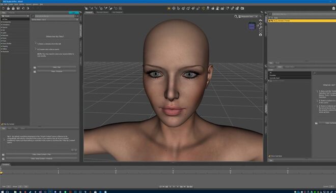Daz3D graphic Design Software