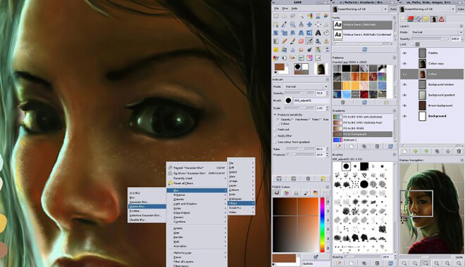 Gimp Graphic Design Software