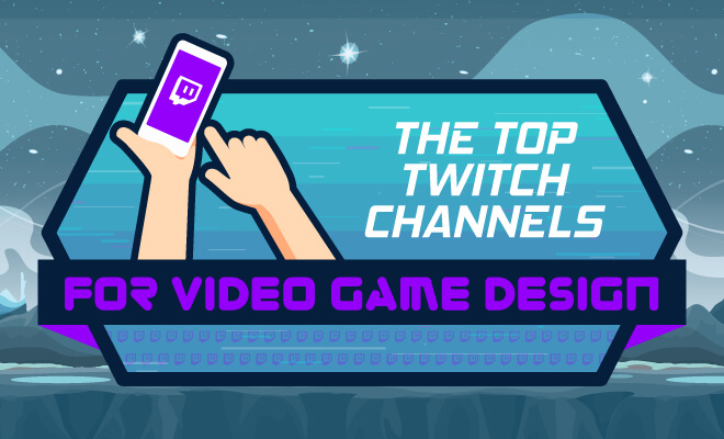 top twitch channels for game designers