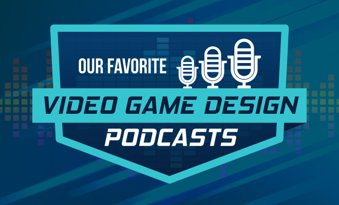 video game design podcasts