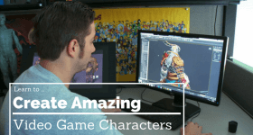 how to create video game characters