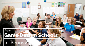 Game Design Schools in Pennsylvania