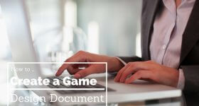 guide to creating a game design document