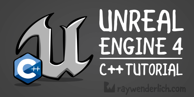 raywenderlich unreal engine 4 tutorial