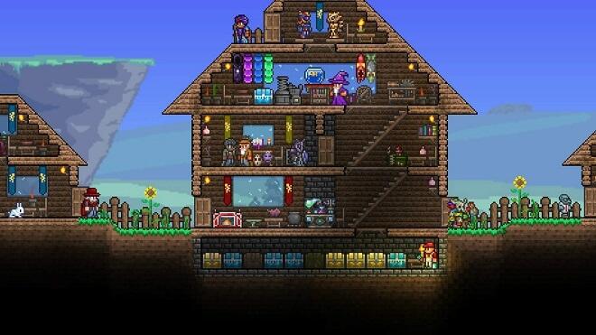PC World-Building Game - Terraria