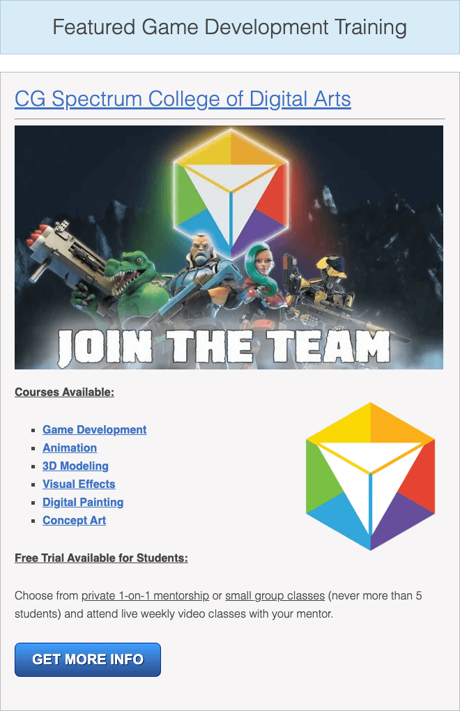 build a game document the right way