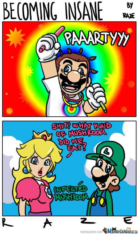 mario funny super memes bros insane becoming meme party jokes mushroom comics gifs peach comic quotes puns rage viral gaming